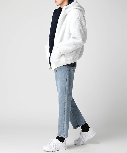 Heavy Dumble Hood Jumper(2col) 헤비 양털 후드 점퍼