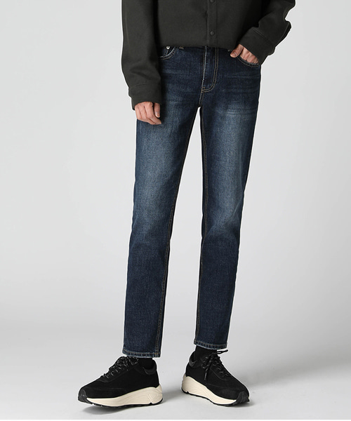 Dark Blue Slim Jeans(1col) 다크 블루 슬림 진