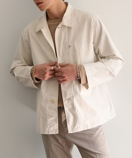 Natural Washed Cotton Jacket(3col) 내츄럴 워싱 코튼 자켓