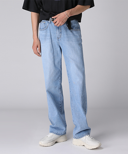 Over Wide Denim Pants(2col) #SALE#오버 와이드 데님 팬츠