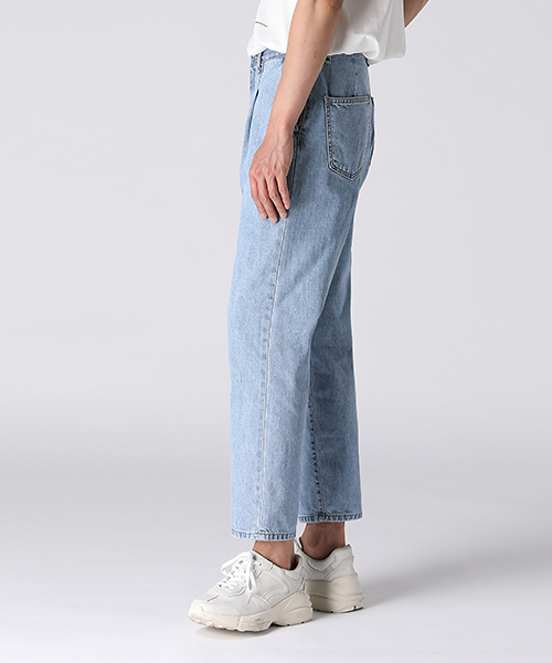 Pintuck Vintage Denim Pants(2col) 핀턱 빈티지 데님 팬츠