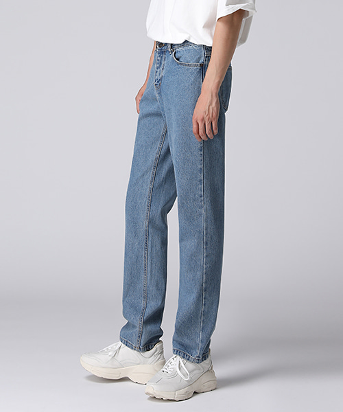 Natrual Washed Regular Jeans(2col) 내츄럴 워싱 레귤러 진
