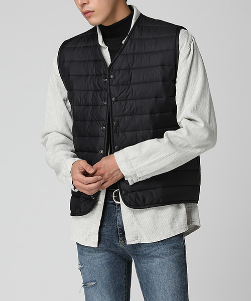 Classic Quilting Vest(2col)클래식 퀼팅 조끼