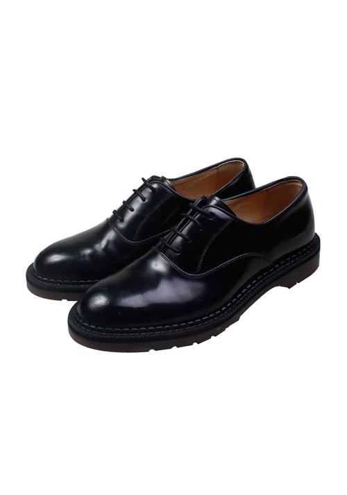 Handmade Cowskin Navy Shoes(1col)