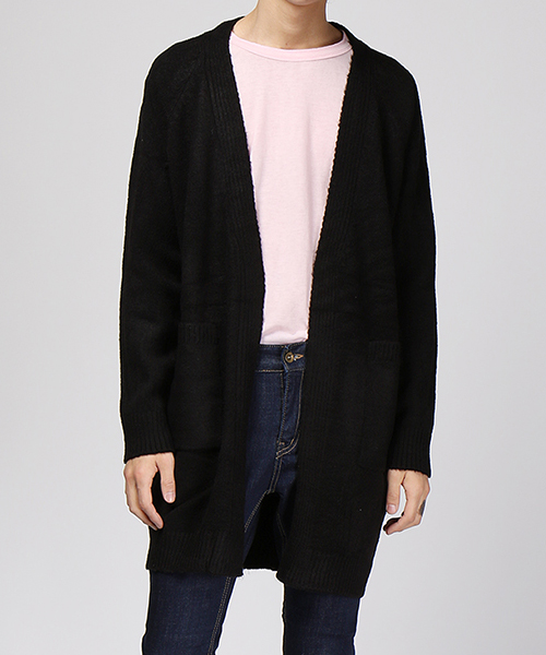 Shawl Long Cardigan(3col)숄 롱 가디건
