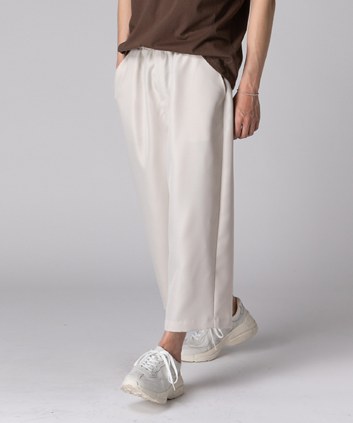 Double Wide Banding Pants(2col) 더블 와이드 밴딩 팬츠