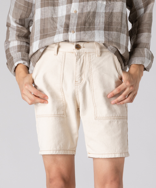 Natural Cotton Half Pants(1col) 내츄럴 코튼 반 바지