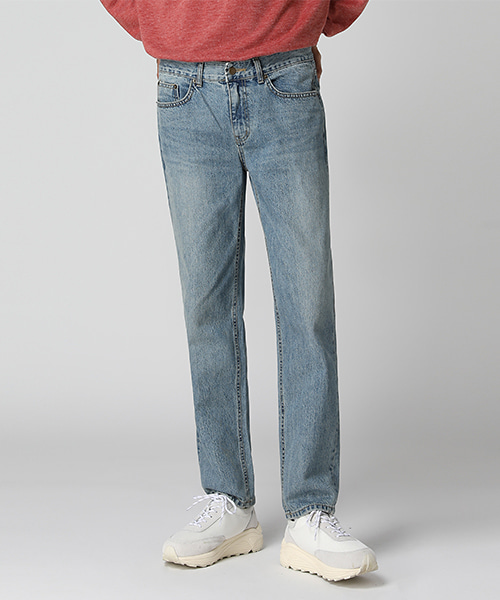 Natural Washed Regular Jeans(1col) 내츄럴 워싱 레귤러 진
