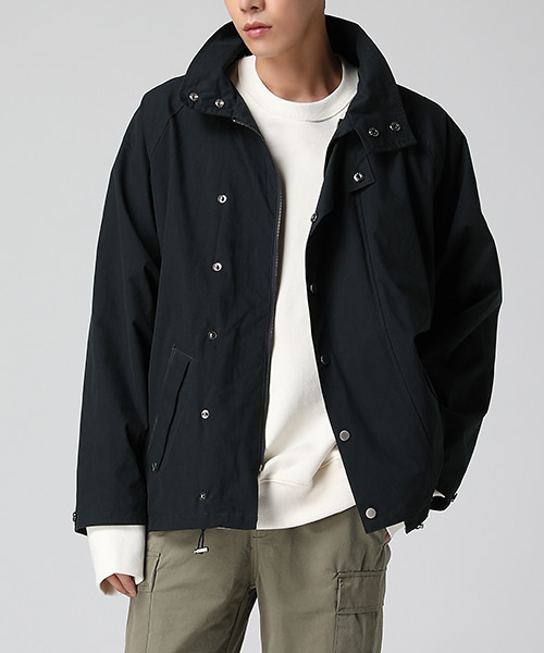 Snap Short Field Jacket(2col) 스냅 숏 야상 자켓