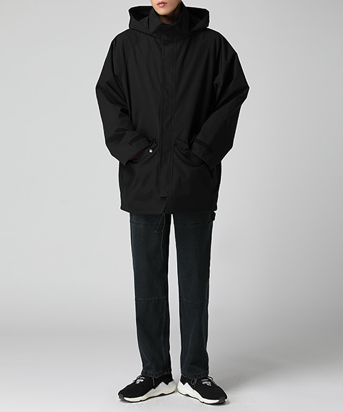 Hood Shell Over Parka(1col) 후드 쉘 오버 파카