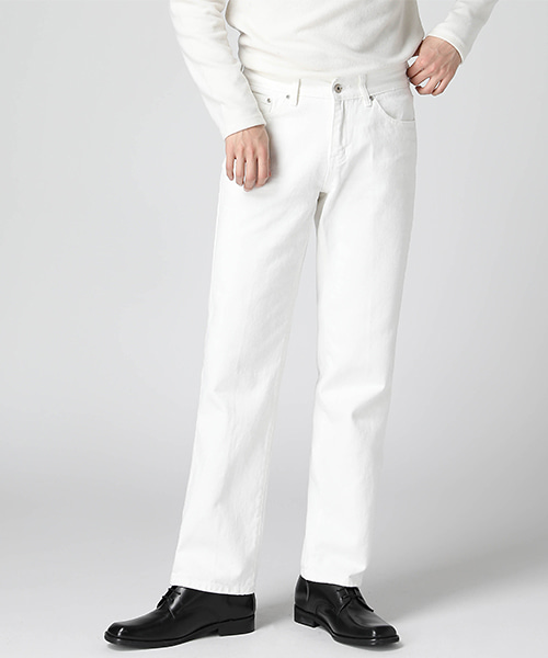Real White Wide Jeans(1col) 리얼 화이트 와이드 진