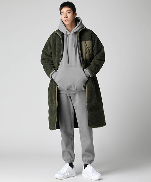 Long Fleece Padding Jumper(3col) 롱 후리스 패딩 점퍼