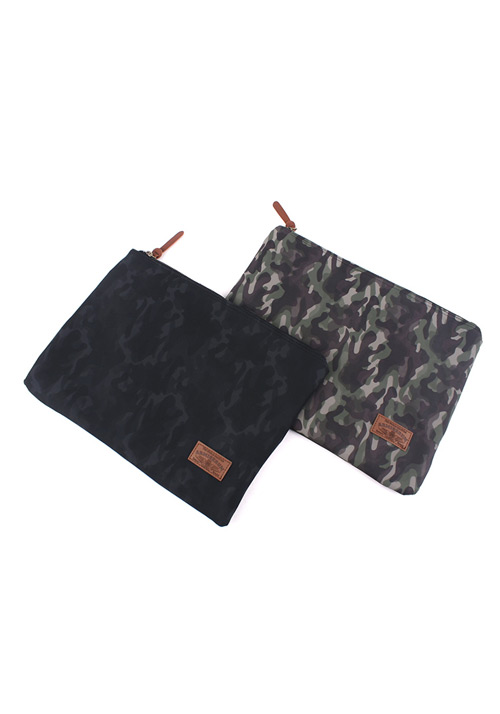 Camoflauge Pattern Pquare Clutch Bag (2col)